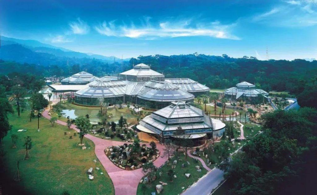华南植物园温室群